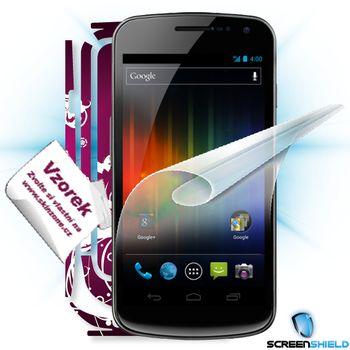 Fólie ScreenShield Samsung Galaxy Nexus  ochrana displeje-displej+voucher na skin