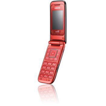 Samsung E2530 Scarlet Red