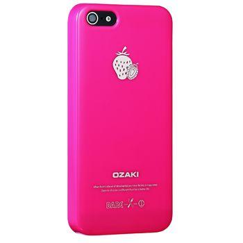 Ozaki kryt pro iPhone 5/5S O!coat Fruit STRAWBERRY, růžová