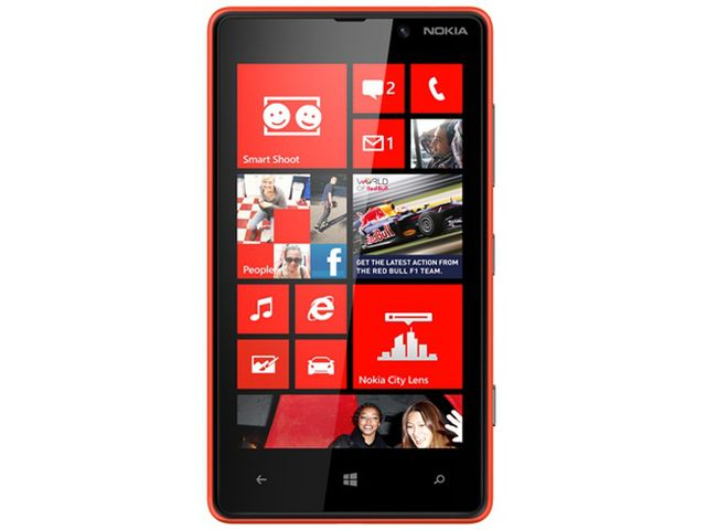 obsah balení Nokia Lumia 820 Red