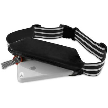 """Puro univerzální sportovní pouzdro pro telefon do velikosti 6,3"""", černá"""