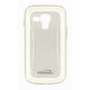 Kisswill TPU Shine pouzdro pro Samsung S7580 Galaxy Trend, transparentní