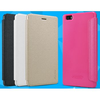Nillkin pouzdro Sparkle Folio pro Huawei Ascend P8 Lite, růžové