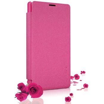 Nillkin pouzdro Sparkle Folio pro Nokia Lumia 435, růžové