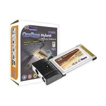 Items DVB-T/analog TV+FM+Video In CardBus ITV-520