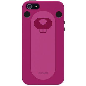 Ozaki kryt pro iPhone 5/5S se stojánkem O!coat FaaGaa_Sea Otters