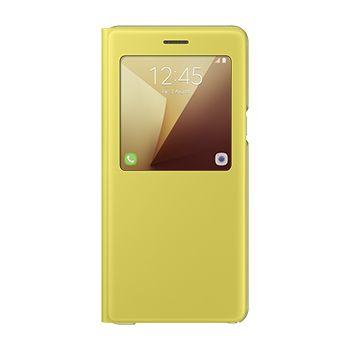 Samsung flipové pouzdro s funkcí stojánku EF-CN930PY pro Note 7, žluté