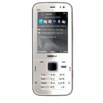 NOKIA N78 Pearl White
