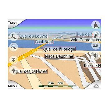 iGO západní Evropa 2006 navigace na SD kartě