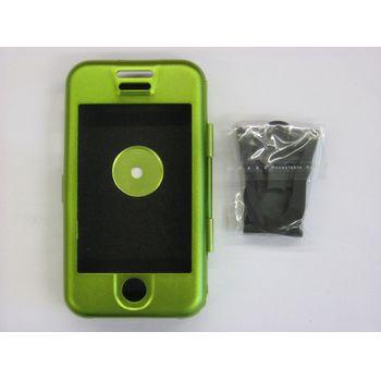 Hliníkové pouzdro ST - Apple iPhone - zelená