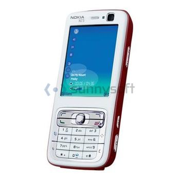 Nokia N73 - Red/White