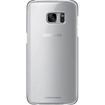 Samsung ochranný zadní kryt EF-QG935CS pro Galaxy S7 edge, stříbrný