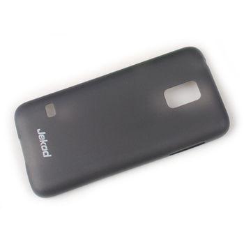 Jekod TPU kryt Ultrathin 0,3mm pro Samsung G800 Galaxy S5 mini, bílá transparentní