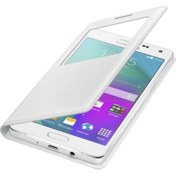 Samsung flipové pouzdro S-View EF-CA500BW pro Galaxy A5, bílé