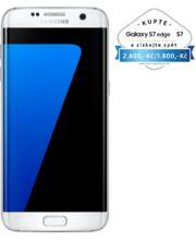 Samsung Galaxy S7 G935 Edge 32GB bílá, akce cashback 2 600 Kč