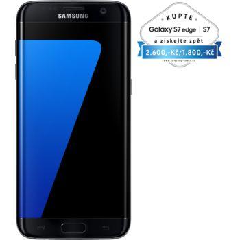 Samsung Galaxy S7 G935 Edge 32GB černá, akce cashback 2 600 Kč
