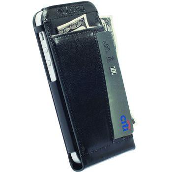 Krusell pouzdro WalletCase Kalmar - Apple iPhone 5S/5C/5, černá