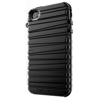 Musubo pouzdro Rubber Band pro Apple iPhone 4/4S - černé