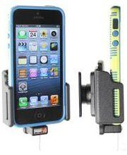 Brodit držák do auta na Apple iPhone 5/5S/5C/SE v pouzdru, nastavitelný, s průchodkou pro Lightning