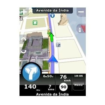 NDrive navigační SW v.3 na 2GB SD kartě + mapy CZ, PL, SK, HU, SL, CRO, AT