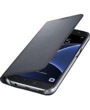 Samsung LED flipové pouzdro s kapsou EF-NG930PB pro Galaxy S7, černé