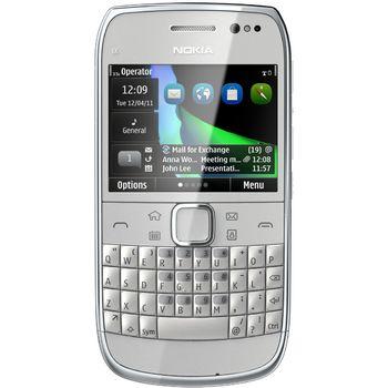 Nokia E6-00 Silver - rozbaleno, plná záruka