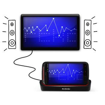 Kidigi dobíjecí kolébka pro HTC Sensation/XE s HDMI výstupem - horizontální