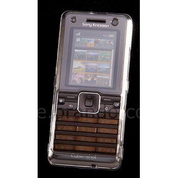 Transparentní pouzdro Brando Crystal - Sony Ericsson K770i