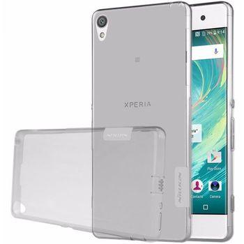 Nillkin pouzdro Nature TPU pro Sony Xperia XA, šedé
