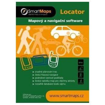 SmartMaps Locator: Zimní lyžařská mapa ČR a SR 1:60 000