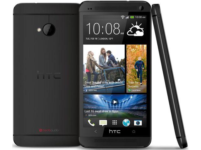 obsah balení HTC One 32GB, černý