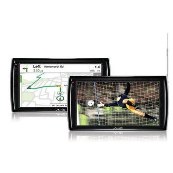 "MIO V735u GPS navigace, LCD 7"", TMC, FM trans., DVB-T,M/M,3D budovy,mapy EU (41)"
