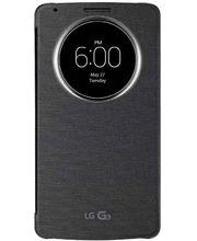LG flipové pouzdro QuickCircle CCF-345G pro LG G3, černá
