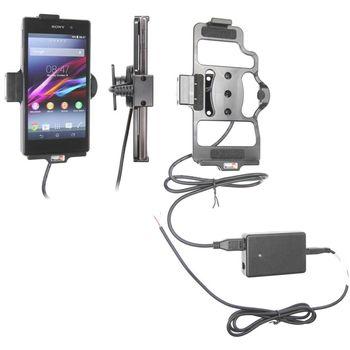 Brodit držák do auta na Sony Xperia Z1 bez pouzdra, se skrytým nabíjením