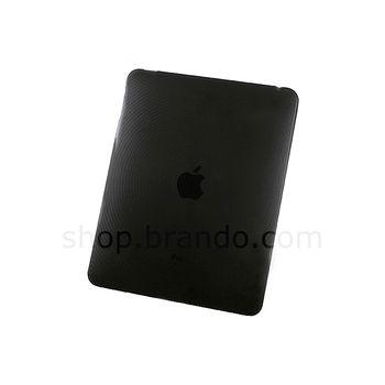 Pouzdro plastové Brando s kruhovým vzorem - Apple iPad (černá)