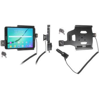 Brodit držák do auta na Samsung Galaxy Tab S2 8.0 bez pouzdra, s nabíjením z cig. zapalovače, zámek