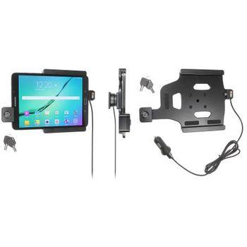 Brodit držák do auta na Samsung Galaxy Tab S2 8.0 bez pouzdra,s nabíjením z cig.zapalovače/USB,zámek