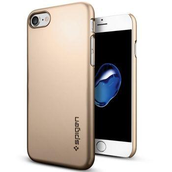 Spigen ochranný kryt Thin Fit pro iPhone 7, zlatá