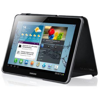 Samsung polohovací kryt EFC-1H8NGE pro Galaxy Tab 2, 10.1 (P5100/P5110), Dark Grey