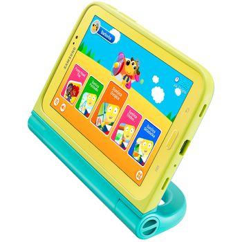 Samsung pouzdro Kids se stylusem EF-PT210BM, modrá