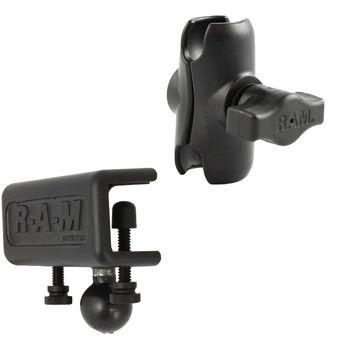 """RAM Mounts sestava pro držák s 1"""" čepem s krátkým ramenem a s úchytem na desku o tloušťce 4,4 - 28,0 mm, RAM-B-177-XAU"""