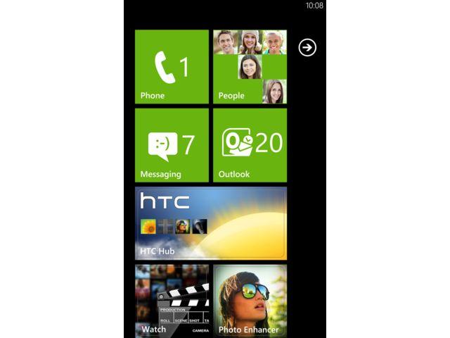 obsah balení HTC Radar + náhradní originální datový kabel