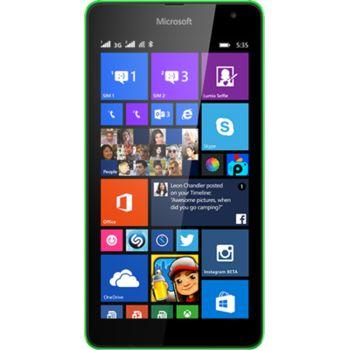 Microsoft Lumia 535, zelená