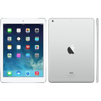 Apple iPad Air, 128GB Wi-Fi, stříbrná