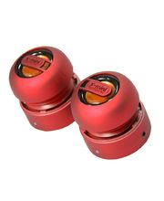 X-mini Max - přenosné stereo reproduktory červené