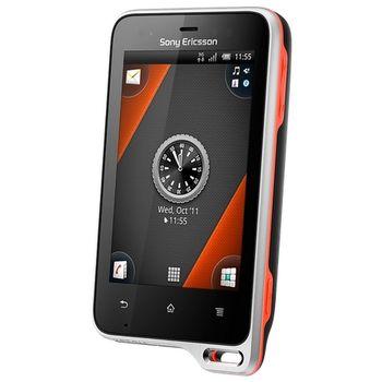Sony Ericsson Xperia active - černá s oranžovou - rozbaleno, plná záruka