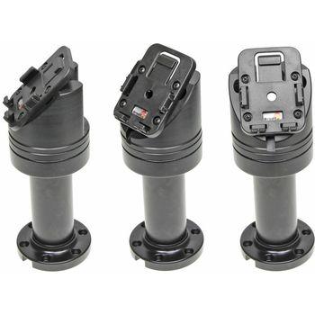 Brodit set otočného montážního podstavce a MultiMove clipu, výška 165 mm, sklon 45°, černý
