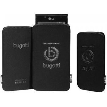 Bugatti Slim Case Universal Iconic M (122 x 75mm) - černé