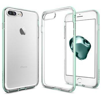 Spigen ochranný kryt Neo Hybrid Crystal pro iPhone 7 plus, tyrkysová