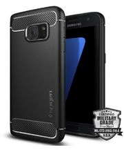 Spigen odolný kryt Rugged Armor pro Galaxy S7, černé